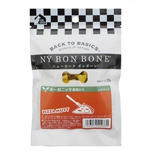 NY BON BONE ピザマット味 ビスケット 30g ニューヨーク ボンボーン (犬用おやつ) relish