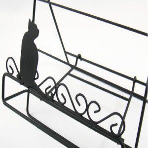 Aveille レシピスタンドS ネコ ブラック ADS-955 黒猫アイアンシリーズ ねこ雑貨 ネコ雑貨 猫雑貨 ねこグッズ ネコグッズ 猫グッズ クロネコ relish 02
