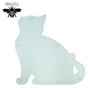 Aveille カッティングボード ネコ(クリア) ACB-1802 黒猫アイアンシリーズ ねこ雑貨 ネコ雑貨 猫雑貨 ねこグッズ ネコグッズ 猫グッズ クロネコ|relish