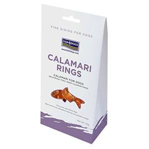フィッシュ4 ドッグ イカリング CALAMARI RINGS 75g (犬用おやつ)fish4  a relish