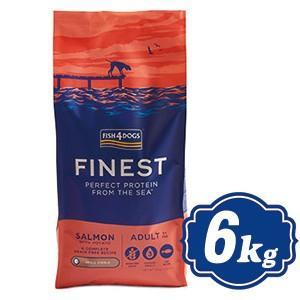 フィッシュ4 ドッグ サーモン 小粒 6Kg fish4dogs コンプリート無添加ドッグフード