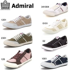 アドミラル スニーカー  メンズ レディース イノマー  黒 白 Admiral INOMER SJAD0609/SJAD1509|reload-ys