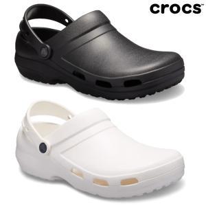 クロックス 黒 白  レディース メンズ スペシャリスト ベント 10074 crocs サンダル|reload-ys