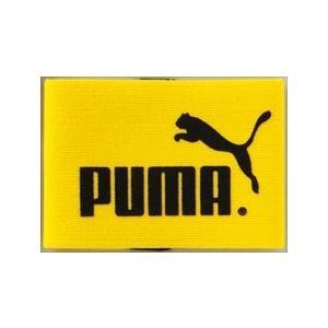 プーマ PUMA キャプテンズ アームバンド J PMJ-051626 ダンデライオン/ブラック メンズ・レディース ユニセックス 黒|reload-ys