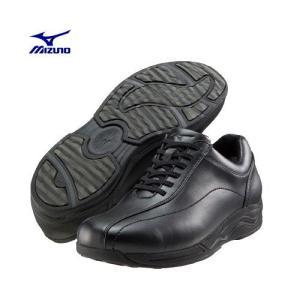 ミズノ シューズ ウォーキング mizuno 寒冷地向け LA160 ブラック ハイドロストッパー メンズ ウォーキングシューズ walking shoes 黒 reload-ys