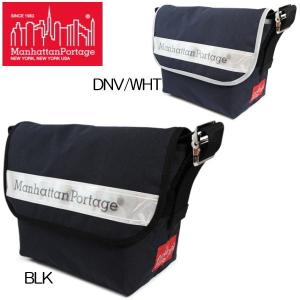 マンハッタン ポーテージ メッセンジャーバッグ Manhattan Portage Vinyl Reflector Vintage Messenger Bag MP1606VJRVR|reload-ys