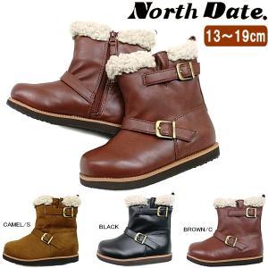 キッズ ムートンブーツ ショート ノースデート North Date [YTA 3004/3104] 子供ブーツ|reload-ys