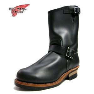 レッドウィング メンズ  エンジニアブーツ  RED WING 2268黒セール 正規品