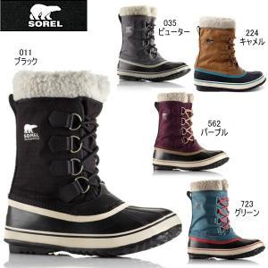 ソレル ウインターカーニバル レディース スノーブーツ SOREL Winter Carnival NL1496 黒|reload-ys