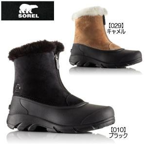ソレル スノーエンジェルジップ レディース スノーブーツ SOREL Snow Angel Zip NL1840 黒|reload-ys
