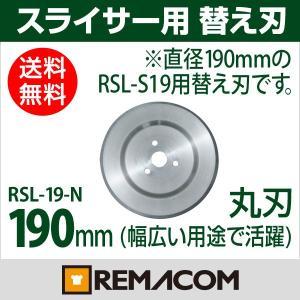 レマコム ホームスライサー RSL-S19/RSL-A19用替え刃(丸刃)幅広い用途で大活躍!|remacom