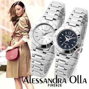 腕時計 レディース人気 ブランド Alessandra Olla アレサンドラオーラ メタル腕時計 ベルト調整工具付|remake