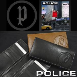 長財布 メンズ POLICE ポリス 本革レザー 二つ折り 長財布 BASIC カード入れ20枚収納 長財布 PA-59301 送料無料|remake