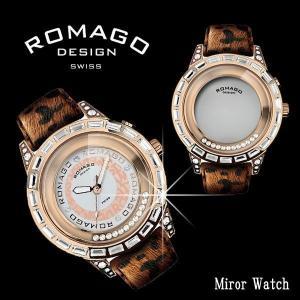 腕時計 レディース 人気 ブランド おしゃれ ロマゴデザイン ROMAGO DESIGN RM017-0176HH-BR 送料無料|remake
