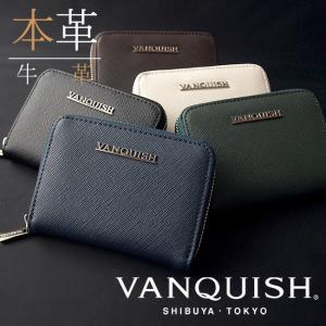 VANQUISH ヴァンキッシュ メンズ コインケース 牛革 ルヴィド 小銭入れ コインケース メンズ サイフ 本革製 VQM-40430 remake