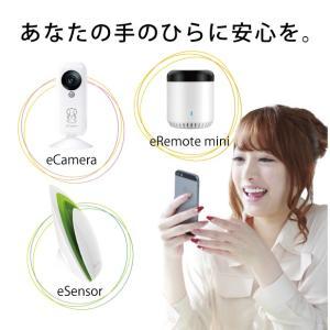 離れていてもしっかり見守る、安心お留守番セット|eCamera(イーカメラ)、eRemote mini(イーリモートミニ)、eSensor(イーセンサー)|remono|05