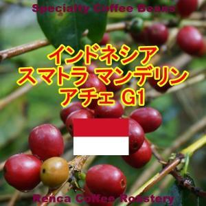コーヒー豆 送料無料 インドネシア マンデリン 250g まとめ割 スマトラ G1 ビッグアチェ フレンチロースト 珈琲豆|rencacoffee