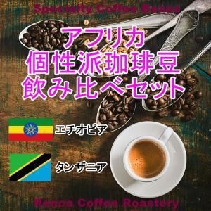 コーヒー豆 飲み比べセット 送料無料 100gx2種類 アフリカ 個性派 珈琲豆 rencacoffee