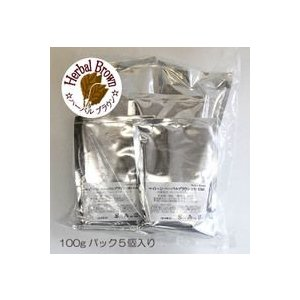天然ハーブの毛染め白髪染め・ヘナファッション・ハーバルブラウン・業務用バルクパック500