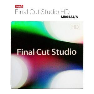 Final Cut Studio HD MB642J/A 映像製作 動画編集 reneeds