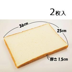 冷凍 スカーフード工業 スポンジシート1.5プレーン 2枚入り 36cm×25cm×厚さ1.5cm 業務用食品 製菓材料 10,000円以上で送料無料 renkaippin
