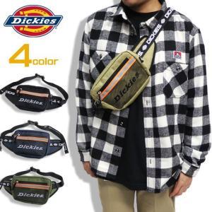 商品名 Dickies ウエストバッグ ロゴテープ ウエストポーチ 商品番号 DICKIES-589...
