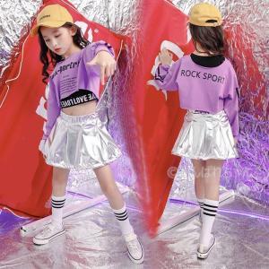 キッズ ダンス 衣装 ヒップホップ 子供服 社交ダンス HIPHOP JAZZ DS ヒップホップ ...