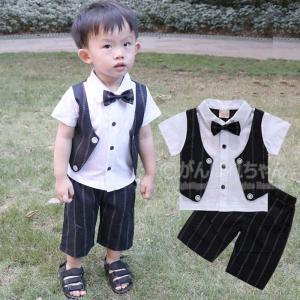 人気 子供服 フォーマル スーツ ベビー服 タキシード 赤ちゃん サロペット 子供 男の子 キッズ ...