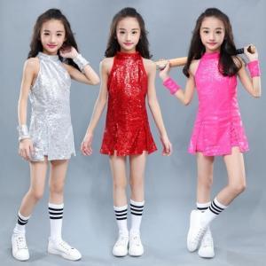 キッズダンス衣装セットアップ キラキラ キッズダンス衣装ヒップホップ 子供 ダンス衣装 HIPHOP...