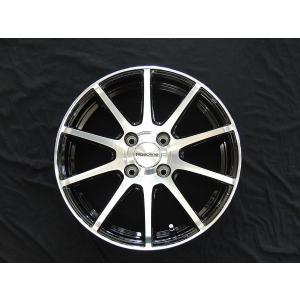 送料無料 ロードライン101S ブラックポリッシュ 175/65R14 タイヤ ホイール4本セット フィット パッソ 11キューブ|rensshop