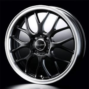 ユーロスポーツ タイプ805 セミグロスブラック 165/45R16 国産タイヤ ホイール4本セット ウェイク ムーブ ワゴンR 送料無料|rensshop