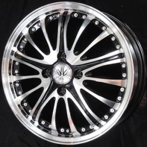 ナットサービス ロクサーニ アベンジャー 165/55R15 国産タイヤ ホイール4本セット タント N-BOX ワゴンR 送料無料|rensshop