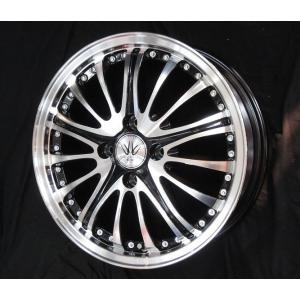 ナットサービス ロクサーニ アベンジャー ブラックポリッシュ 165/50R16 国産タイヤ 4本セット ハスラー キャストアクティバ 送料無料|rensshop