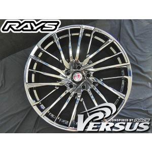 RAYS レイズ ベルサス アベントゥーラ ブラッククローム BC 20インチ 245/35R20 国産タイヤ ホイール4本セット C-HR CHR レクサスUX 送料無料|rensshop