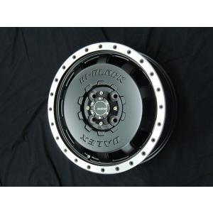 送料無料★モンツァ ハイブロック BALEX マットブラック 165/55R15 国産タイヤ ホイール4本セット N-BOX ウェイク キャスト|rensshop