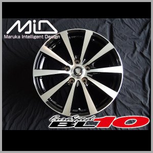 マナレイ ユーロスピードBL-10 205/50R17 国産タイヤ ホイール4本セット PCD114.3 ノア VOXY エスクァイア 送料無料|rensshop