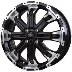 ナットサービス ロクサーニ バトルシップ4 ブラックポリッシュ 165/55R15 国産タイヤ ホイール4本セット ウェイク タント N-ONE 送料無料|rensshop