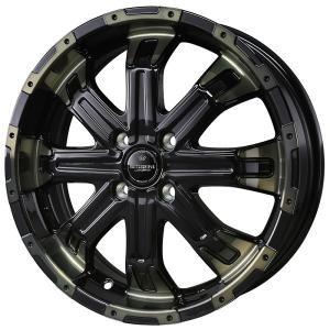 ナットサービス ロクサーニ バトルシップ4 TOYO オープンカントリー BK 165/60R15 ハスラー・キャストアクティバ 送料無料|rensshop