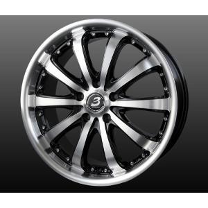 ナットサービス★送料無料 ロクサーニ バイロン スティンガー 8.0J +45 245/40R20 国産タイヤ ホイール4本セット E52エルグランド|rensshop