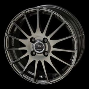 ENKEI エンケイ CDF1 カーボンメタリック 軽量 165/45R16 国産タイヤ 4本セット N-BOX ムーブ 送料無料|rensshop
