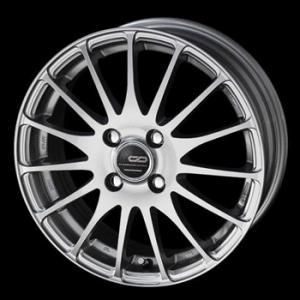 送料無料 ENKEI エンケイ CDF1 ミストシルバ− 軽量 165/45R16 国産タイヤ 4本セット N-BOX ムーブ等に