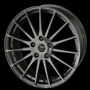 クリエイティブディレクションCDF1 カーボンガンメタ 215/40R18 国産タイヤ ホイール4本セット プリウス 86 レクサスCT 送料無料|rensshop