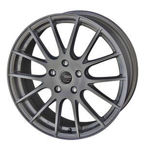 送料無料 クリエイティブディレクション CDM1 軽量 グラファイトシルバー 215/45R17 国産タイヤホイール 4本セット プリウス 86 レクサスCT|rensshop