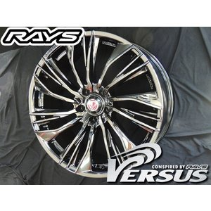 RAYS レイズ ベルサス コンキスタ ブラッククローム BC 20インチ 245/45R20 タイヤ ホイール4本セット CX-5 32エクストレイル 送料無料|rensshop