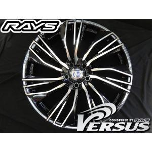 RAYS レイズ ベルサス コンキスタ ブラックパール EAA 20インチ 245/45R20 タイヤ ホイール4本セット ハリアー レクサスNX 送料無料|rensshop