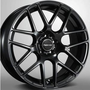 送料無料 ハイペリオンCVM ハーフグロスブラック 245/40R20 国産タイヤ ホイール4本セット 8.5J 9.5J ヴェルファイア アルファード等に|rensshop