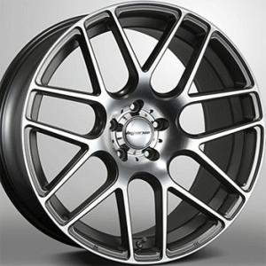 送料無料 ハイペリオンCVM ポリッシュ 245/45R19 国産 タイヤ ホイール4本セット 30アルファード 30ヴェルファイア