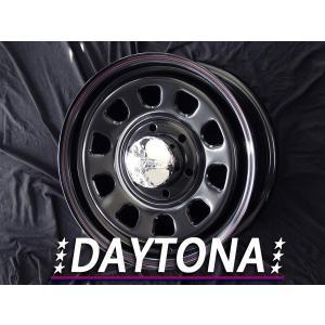 ■ホイール  DAYTONA(デイトナ) ブラック/レッドブルーライン 15インチ 6.0J +45...