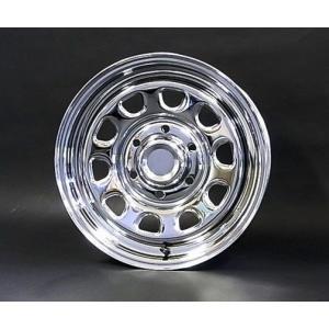 送料無料 デイトナSS クロームメッキ グッドイヤー イーグル ナスカー 215/65R16 109/107R (荷重対応) ホワイトレター 200系ハイエース用タイヤSET|rensshop