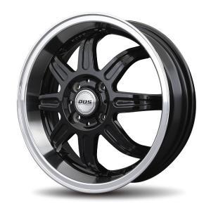 ディープ リヴァージュ ブラック 165/50R15 国産 タイヤホイール4本セット パレット バモス ライフ 送料無料 rensshop